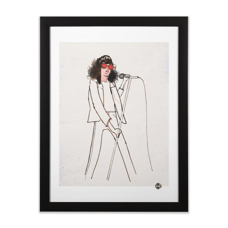 A Ramone Home Framed Fine Art Print by Zach Woomer's Little Shop