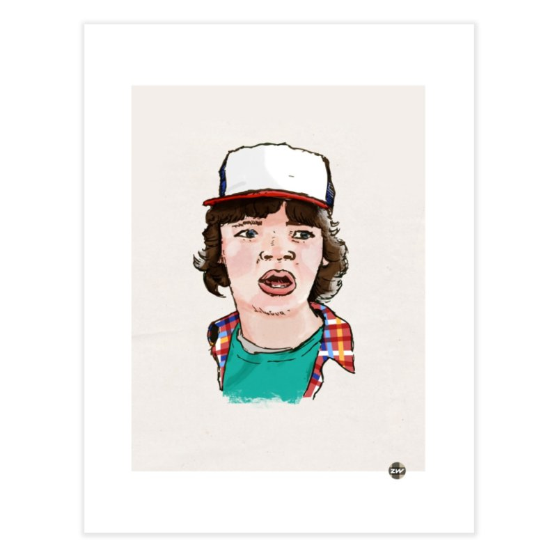 Holy Shit! Home Fine Art Print by Zach Woomer's Little Shop