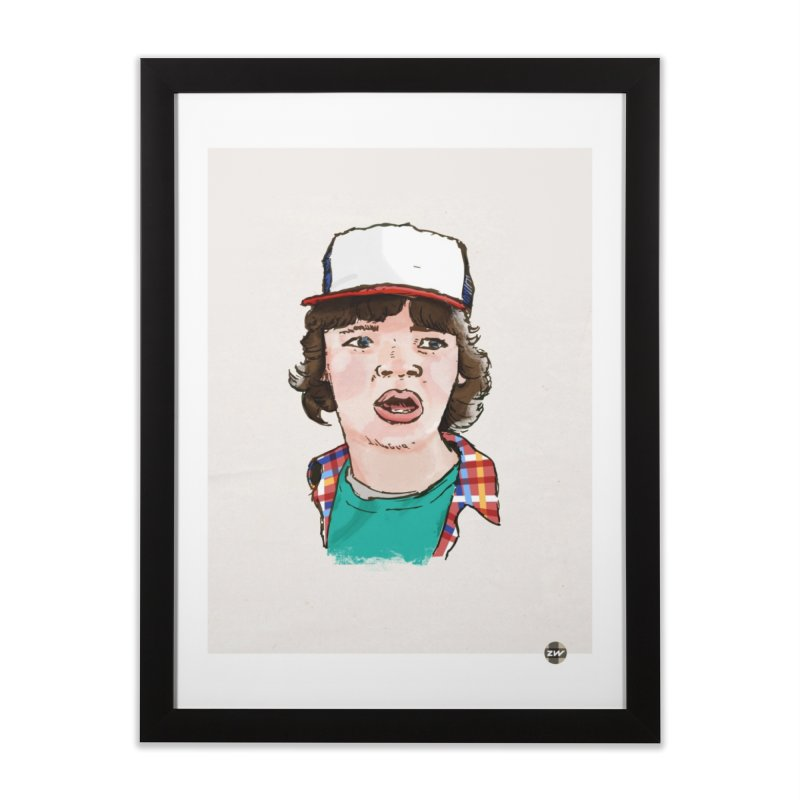 Holy Shit! Home Framed Fine Art Print by Zach Woomer's Little Shop