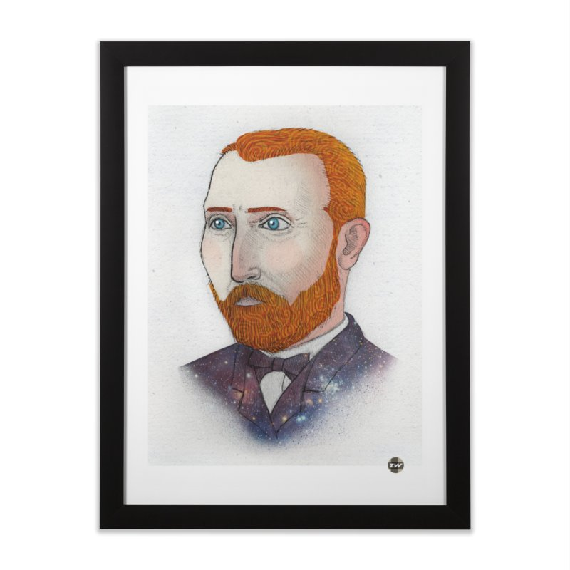 Vincent Home Framed Fine Art Print by Zach Woomer's Little Shop