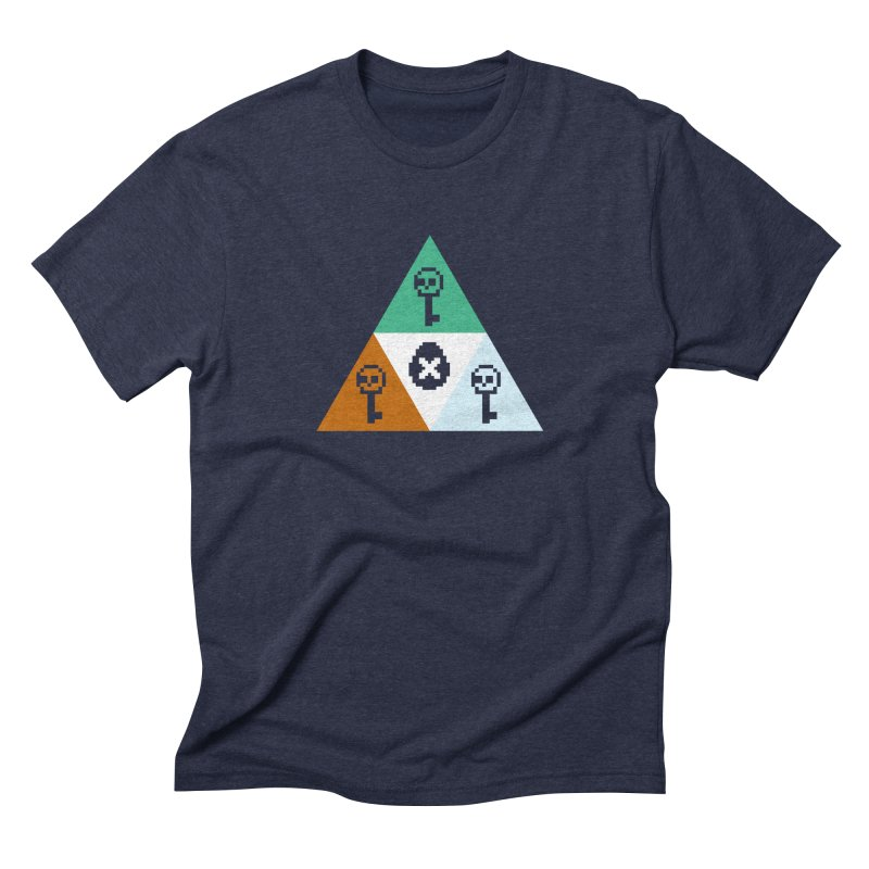 RPO Triforce Men's Triblend T-Shirt by Zach Woomer's Little Shop