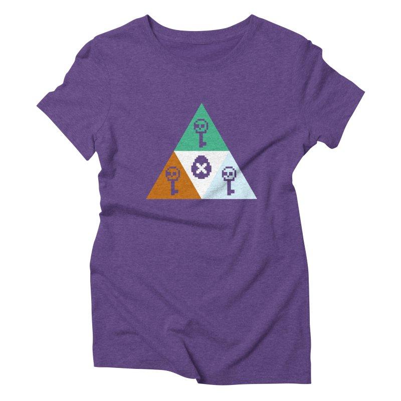 RPO Triforce Women's Triblend T-Shirt by Zach Woomer's Little Shop