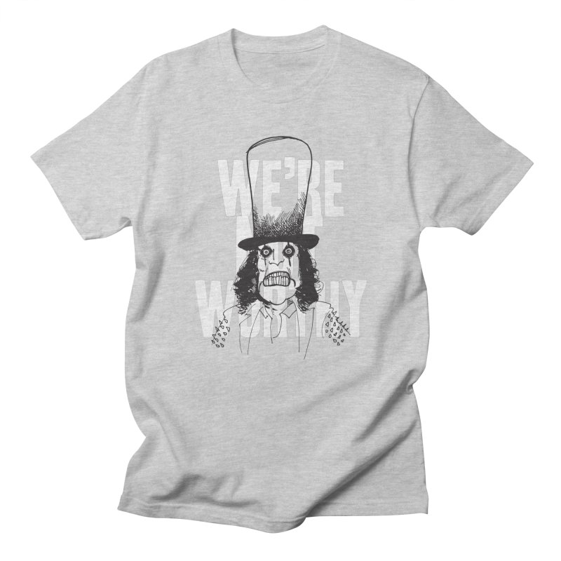 Mr. Alice Men's T-Shirt by Zach Woomer's Little Shop