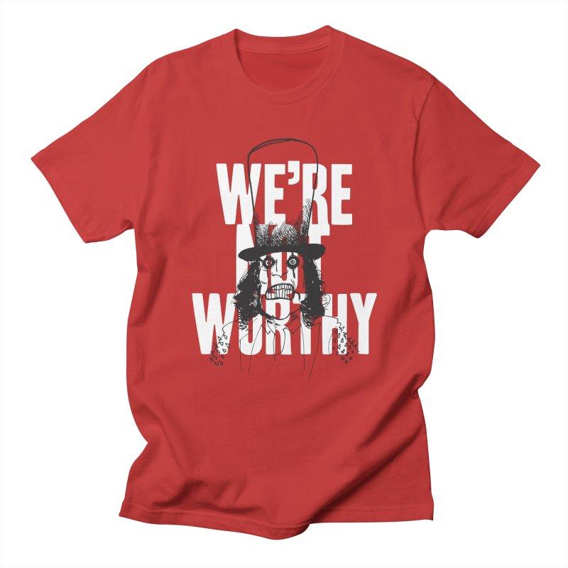 Mr. Alice Men's Regular T-Shirt by Zach Woomer's Little Shop