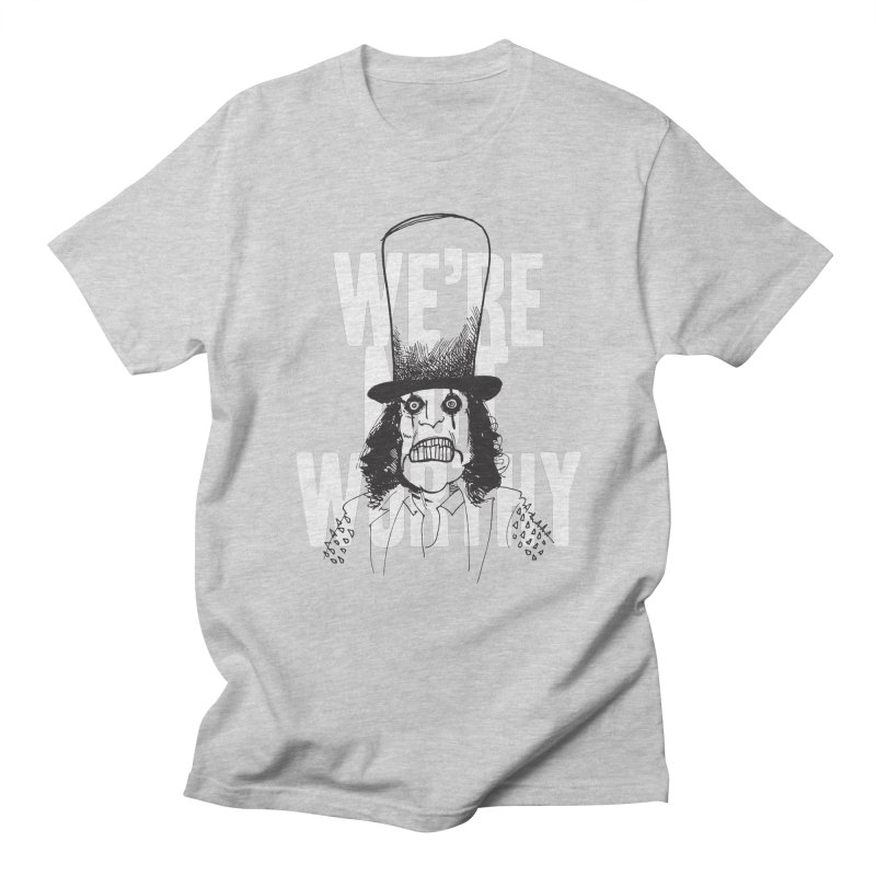 Mr. Alice Men's T-Shirt by Zach Woomer's Little Shop
