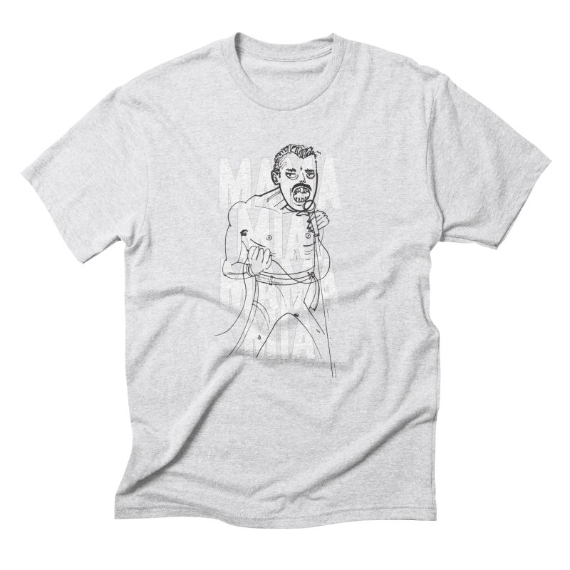 The Queen Men's T-Shirt by Zach Woomer's Little Shop