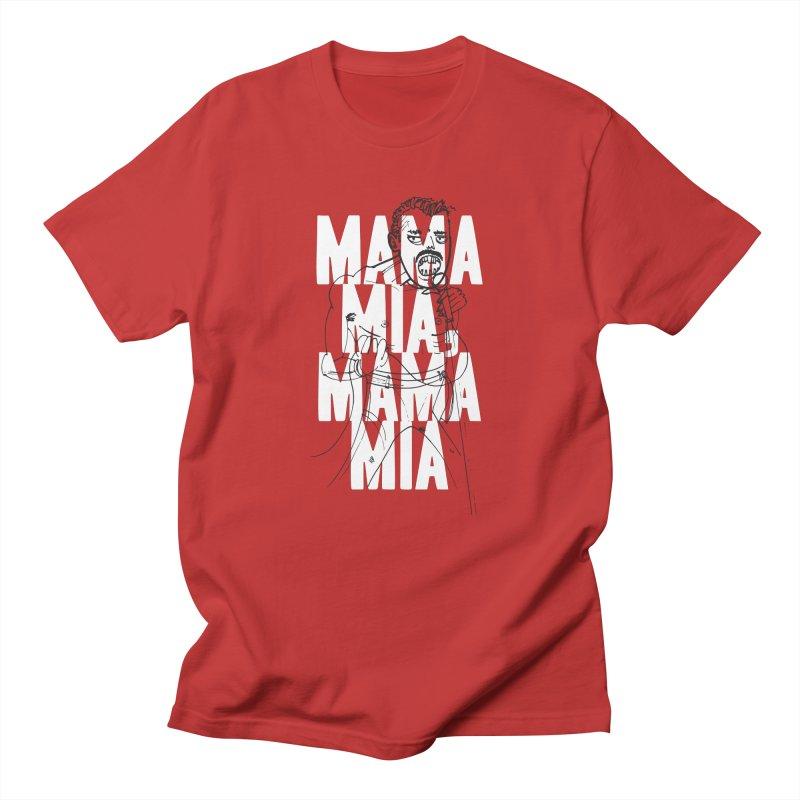 The Queen Men's T-Shirt by Zach Woomer's Little Shop