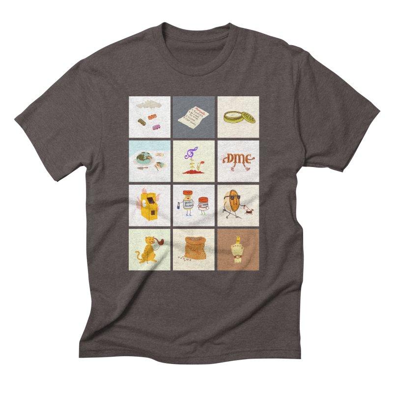 Literal Band Names Men's Triblend T-Shirt by Zach Woomer's Little Shop