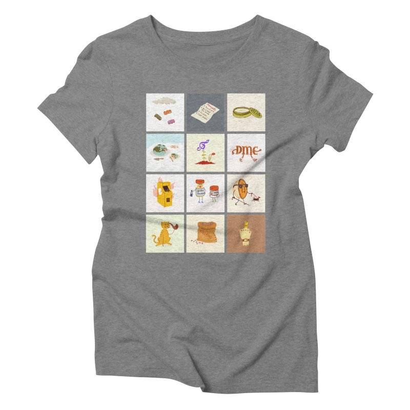Literal Band Names Women's Triblend T-Shirt by Zach Woomer's Little Shop