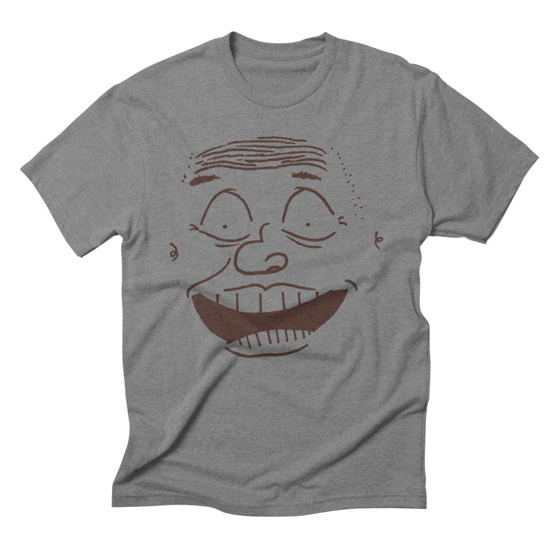 Face It Too Men's Triblend T-Shirt by Zach Woomer's Little Shop
