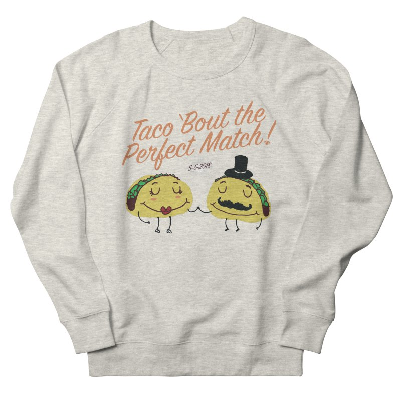 Meat Cute Women's French Terry Sweatshirt by Zach Woomer's Little Shop