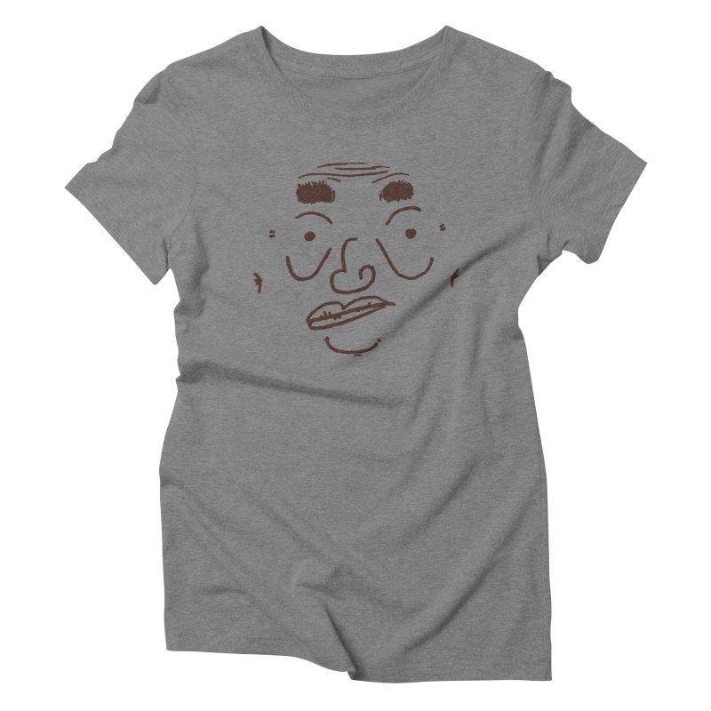 Face It 5ive Women's T-Shirt by Zach Woomer's Little Shop