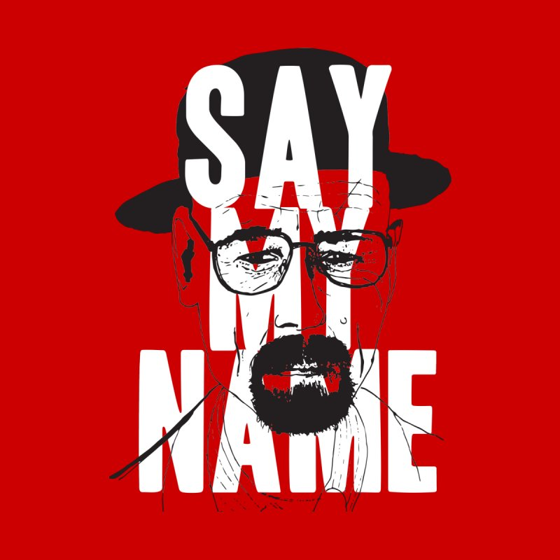 The One Who Knocks Men's T-Shirt by Zach Woomer's Little Shop