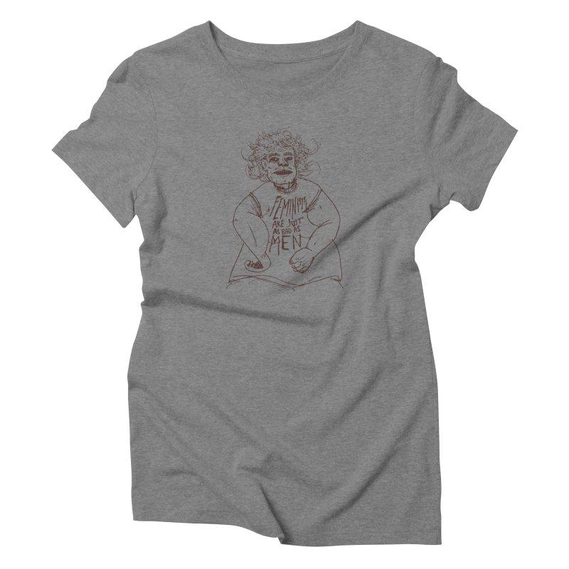 Huh? Women's T-Shirt by Zach Woomer's Little Shop