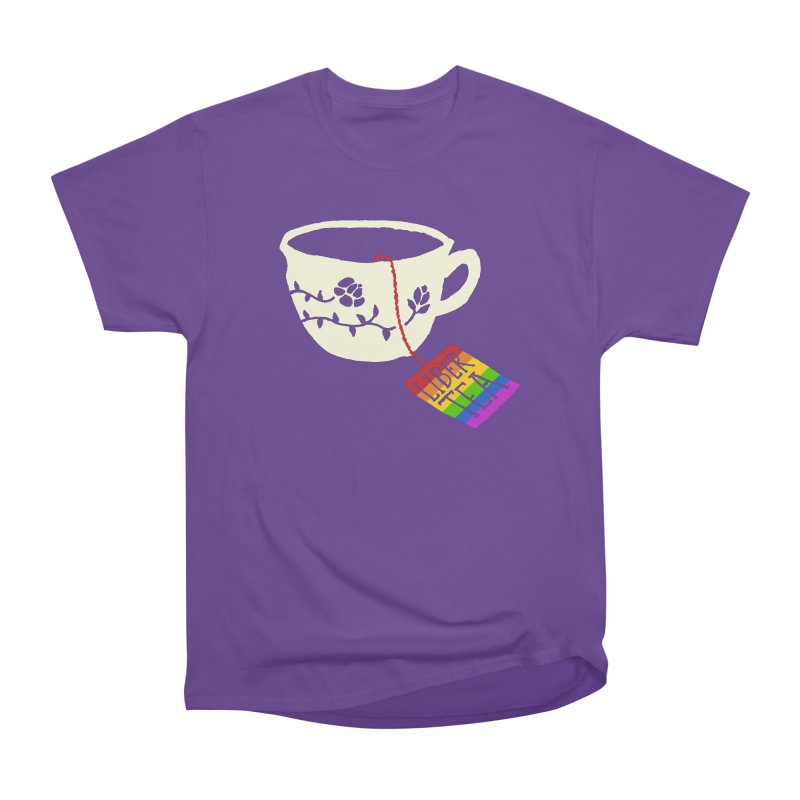 Liber Tea Special Edition Men's Heavyweight T-Shirt by Zach Woomer's Little Shop