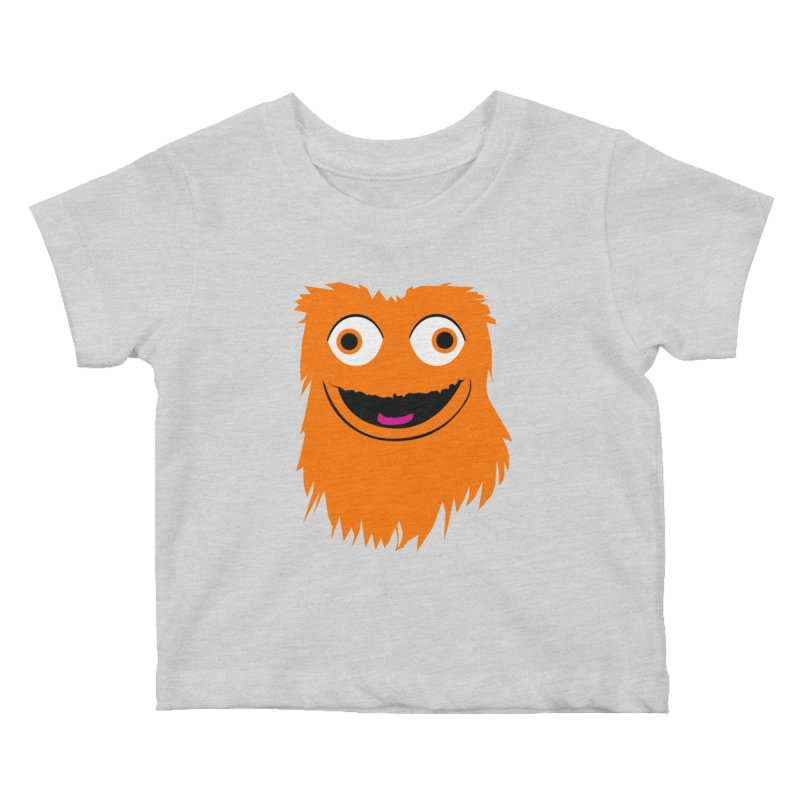 Itty Bitty Gritty Kids Baby T-Shirt by Zach Woomer's Little Shop
