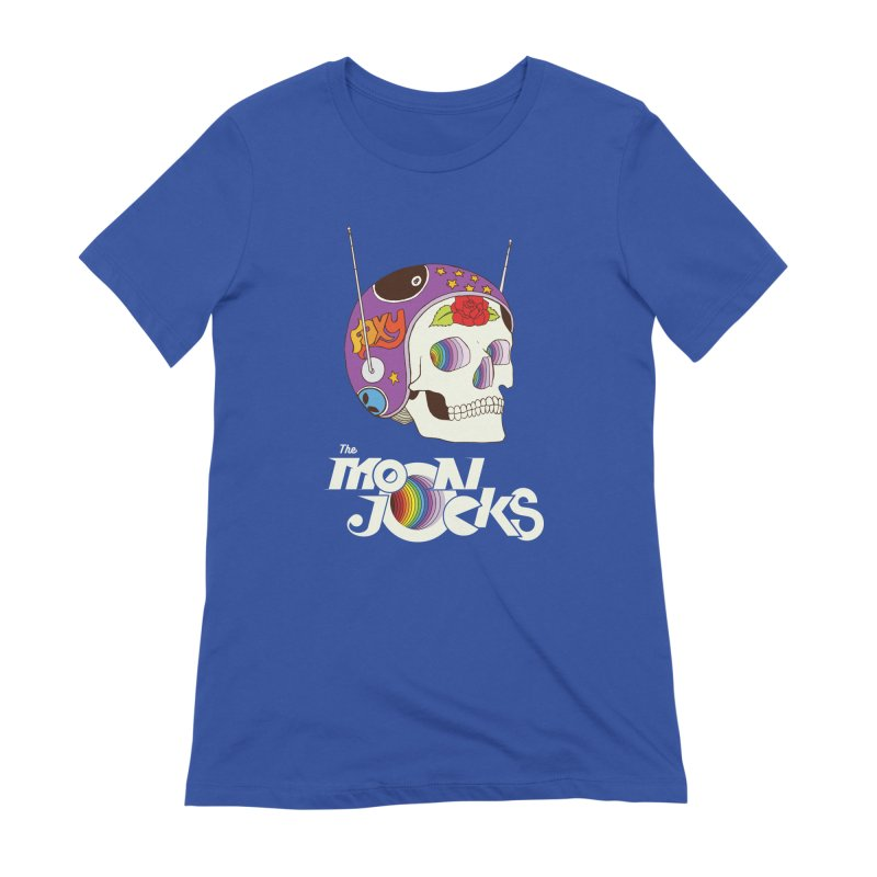 Moonjocks Women's Extra Soft T-Shirt by Zach Woomer's Little Shop