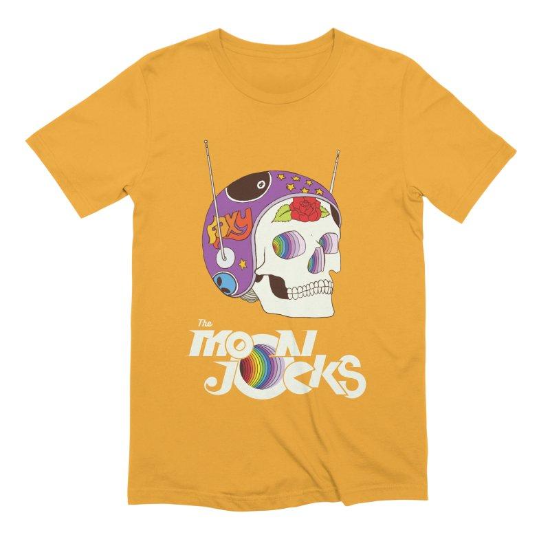 Moonjocks Men's Extra Soft T-Shirt by Zach Woomer's Little Shop