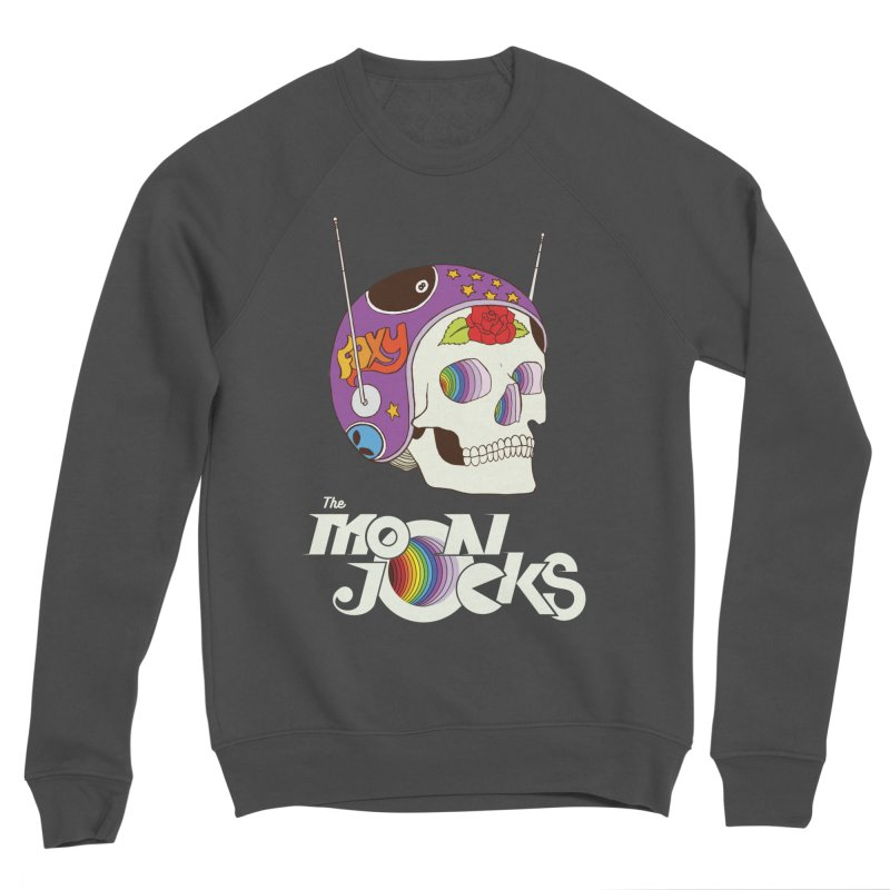 Moonjocks Women's Sponge Fleece Sweatshirt by Zach Woomer's Little Shop