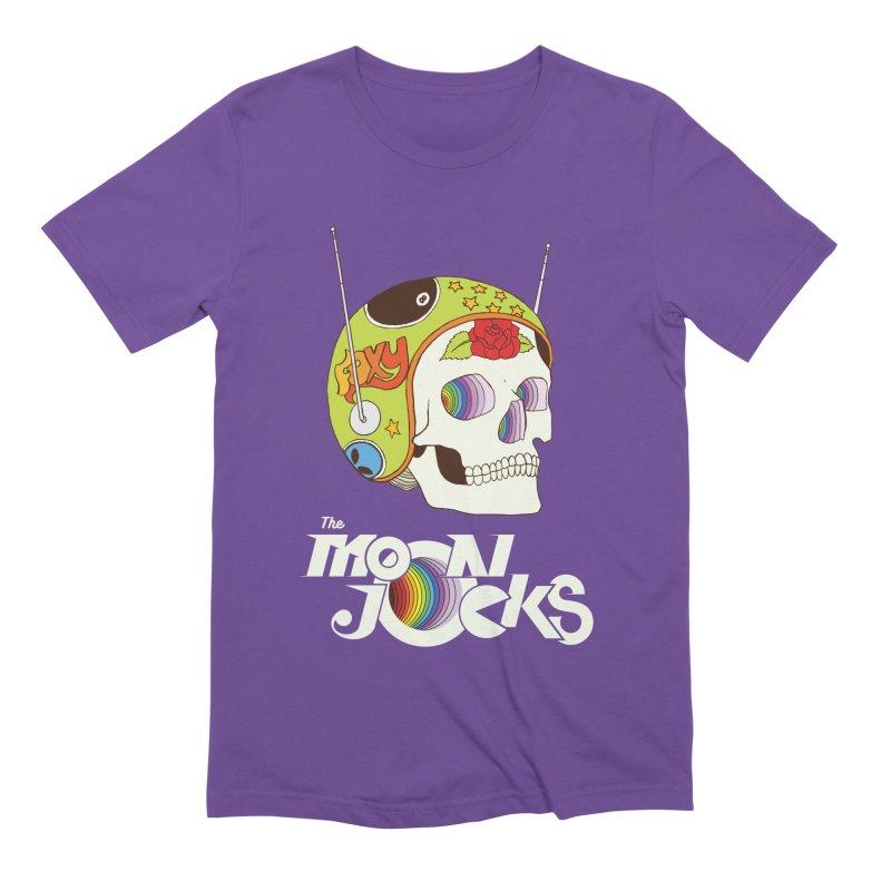 Moonjocks Too Men's Extra Soft T-Shirt by Zach Woomer's Little Shop