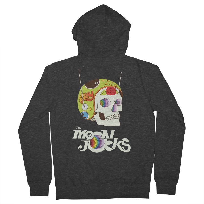 Moonjocks Too Men's French Terry Zip-Up Hoody by Zach Woomer's Little Shop