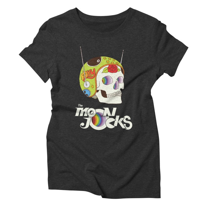 Moonjocks Too Women's Triblend T-Shirt by Zach Woomer's Little Shop
