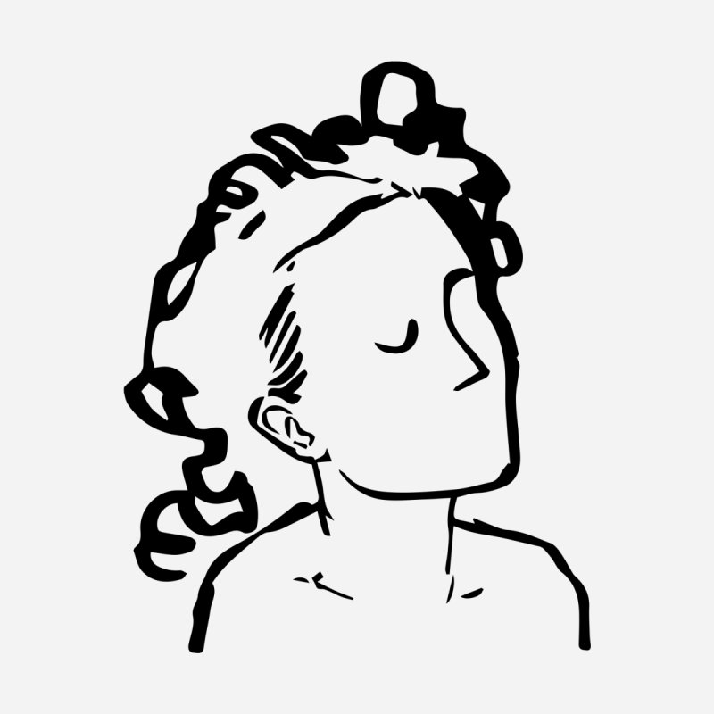 Lady Face 5 by Zach Woomer's Little Shop