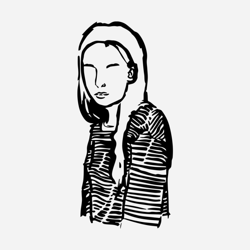 Lady Face 6 by Zach Woomer's Little Shop