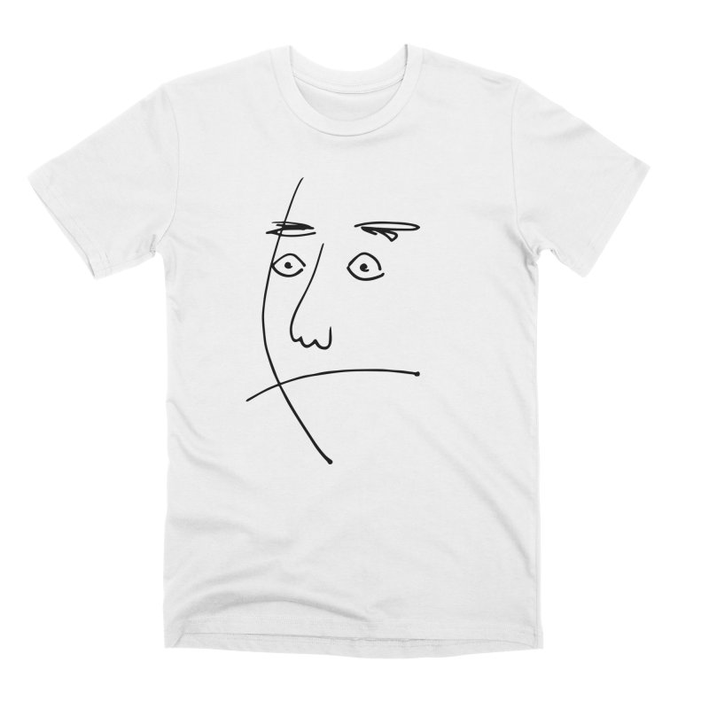 Simple Surprise Men's T-Shirt by Zach Woomer's Little Shop