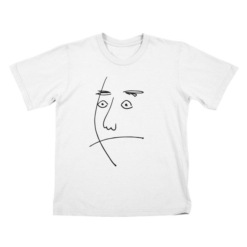Simple Surprise Kids T-Shirt by Zach Woomer's Little Shop