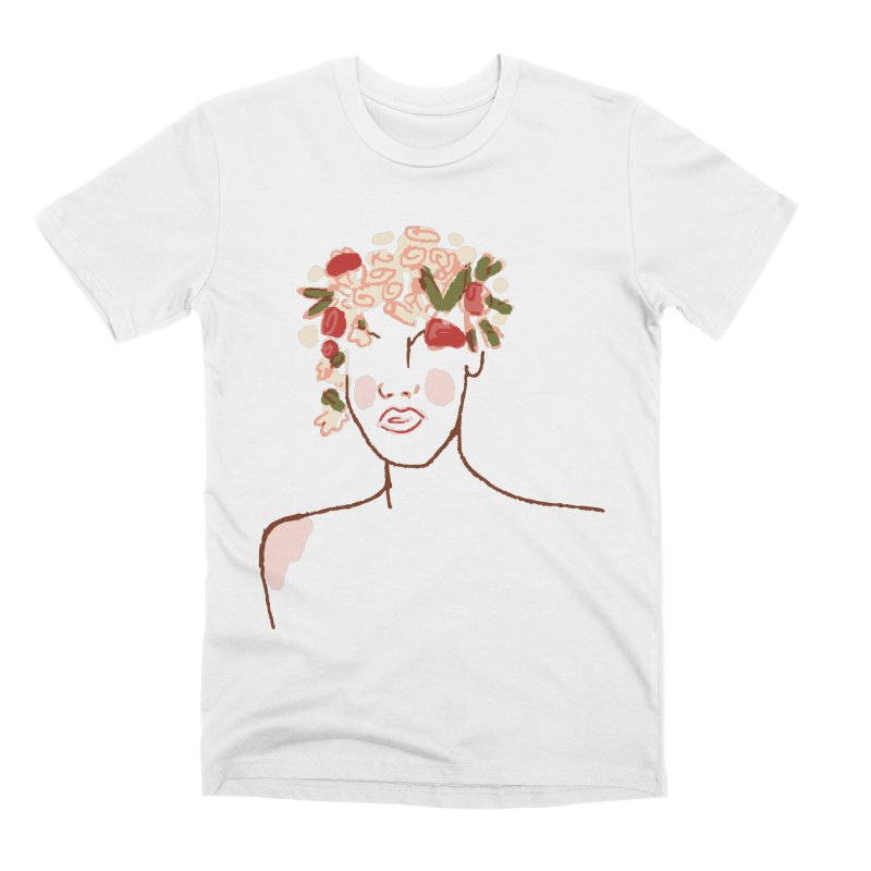 Flower Child Men's Premium T-Shirt by Zach Woomer's Little Shop