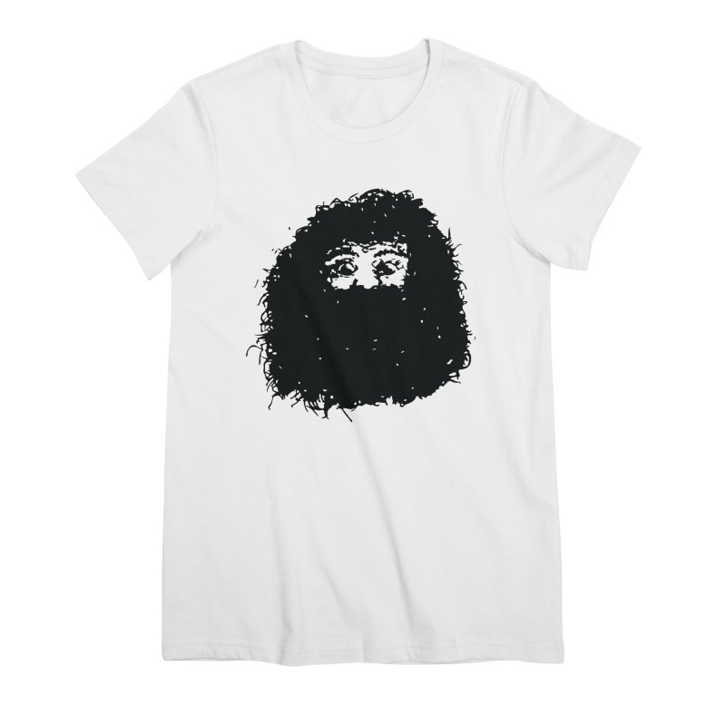 Hagrid Women's Premium T-Shirt by Zach Woomer's Little Shop