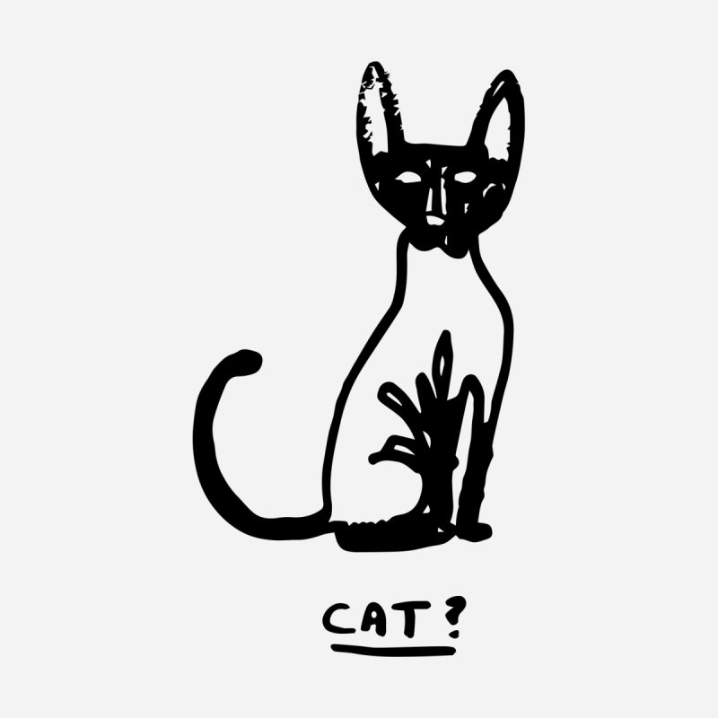 Cat? by Zach Woomer's Little Shop