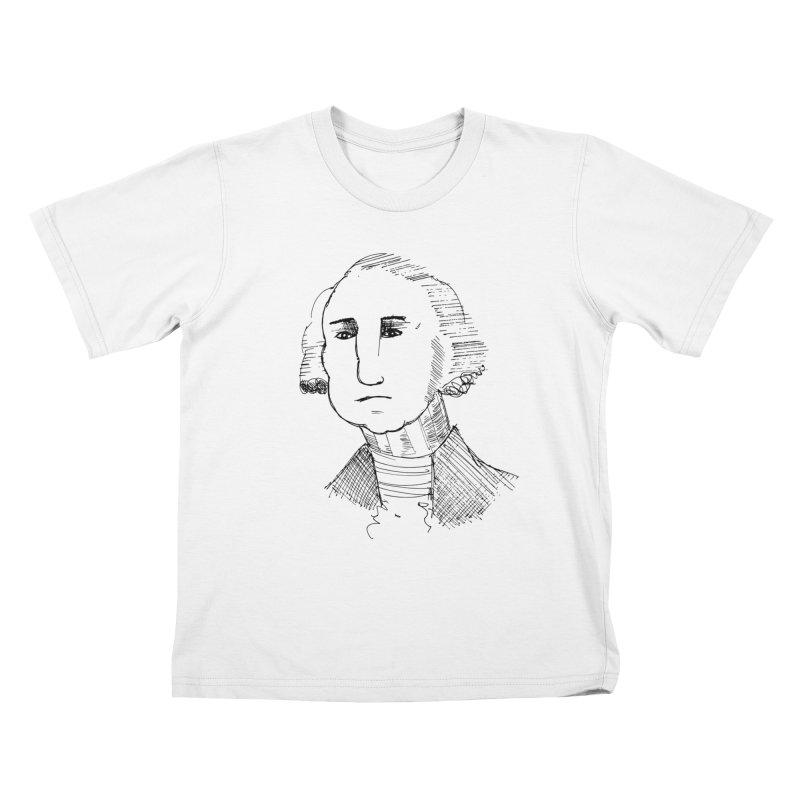 George Kids T-Shirt by Zach Woomer's Little Shop