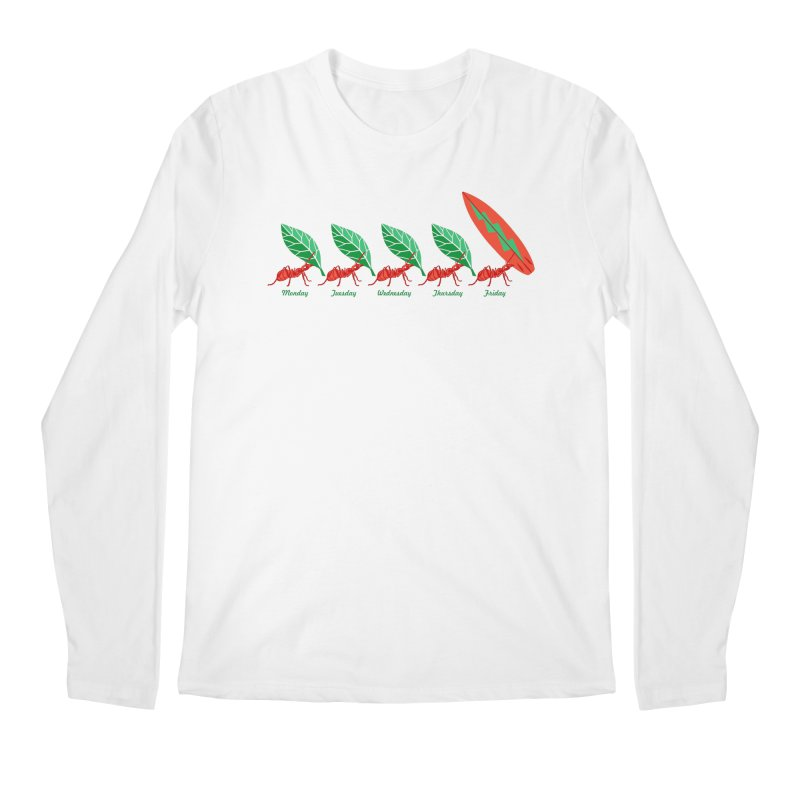Alkmist Surf Weekend Men's Longsleeve T-Shirt by Alkmist's Creative Blends