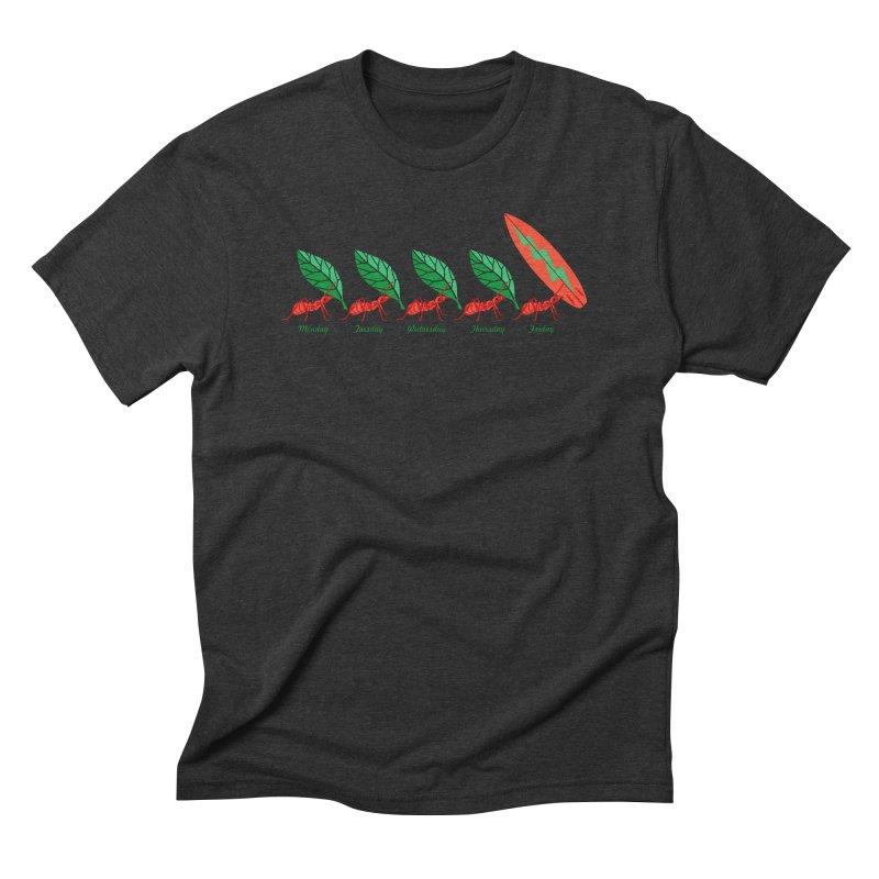Alkmist Surf Weekend Men's Triblend T-shirt by Alkmist's Creative Blends
