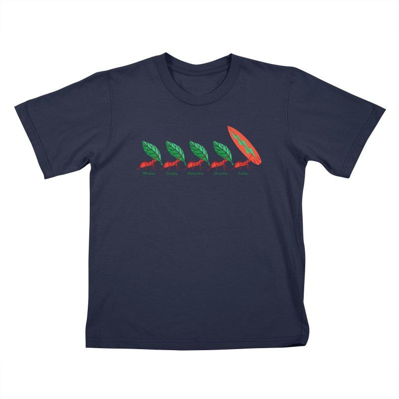 Alkmist Surf Weekend Kids T-shirt by Alkmist's Creative Blends