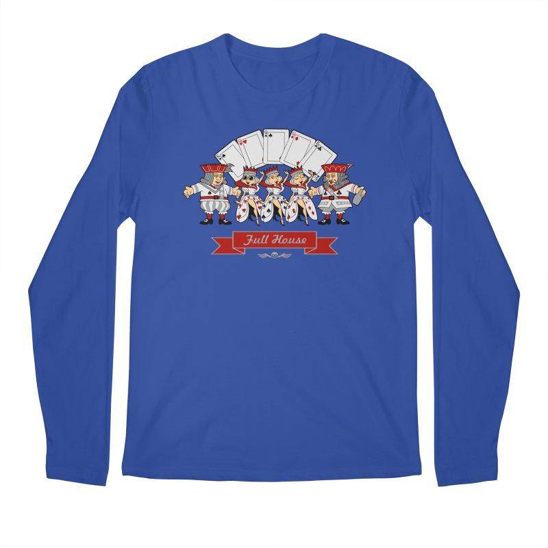 Alkmist Poker Full House Men's Longsleeve T-Shirt by Alkmist's Creative Blends