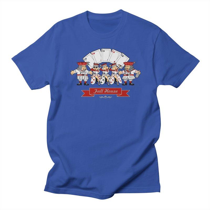 Alkmist Poker Full House Men's T-Shirt by Alkmist's Creative Blends