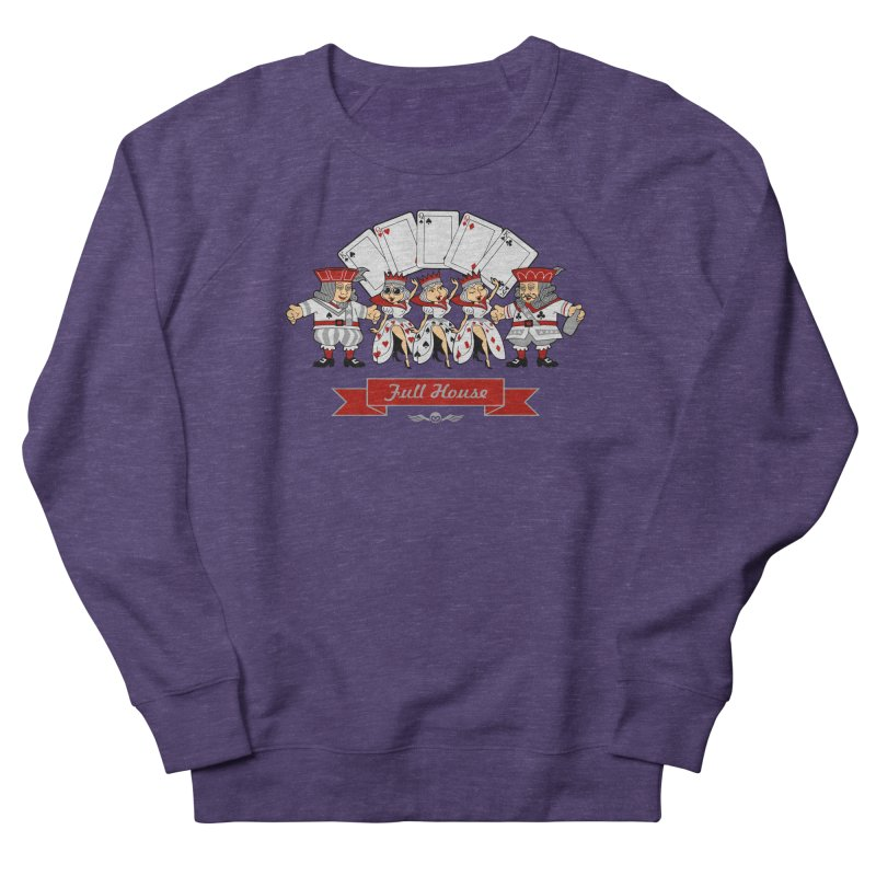 Alkmist Poker Full House Women's Sweatshirt by Alkmist's Creative Blends