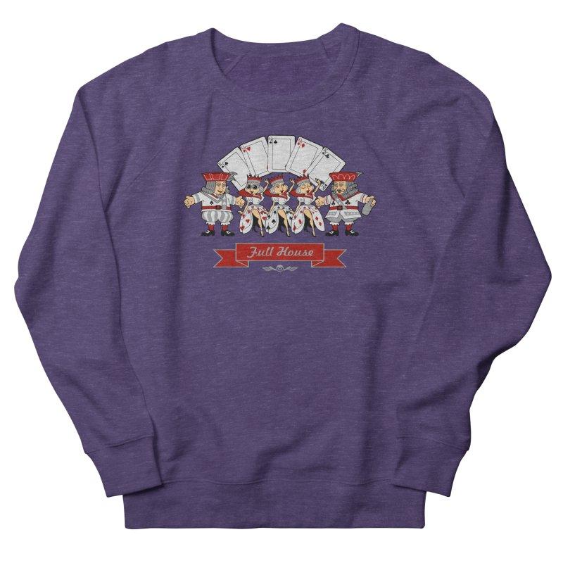 Alkmist Poker Full House Men's Sweatshirt by Alkmist's Creative Blends