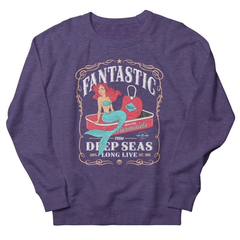 Alkmist Genuine Mermaids Women's Sweatshirt by Alkmist's Creative Blends