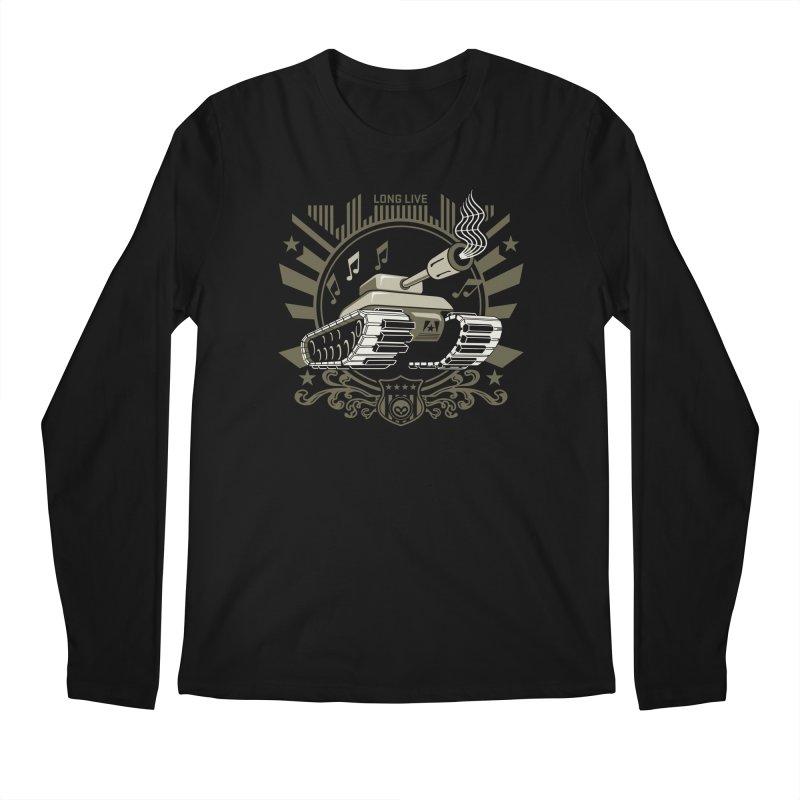 Alkmist Power Music Tank Men's Longsleeve T-Shirt by Alkmist's Creative Blends