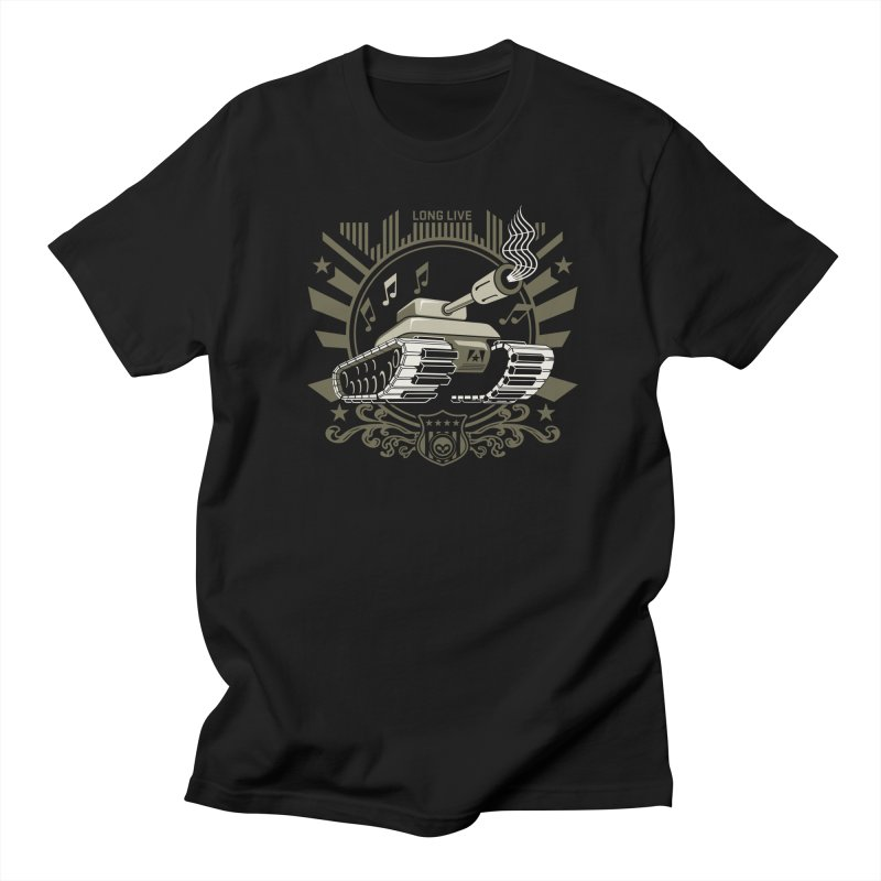Alkmist Power Music Tank in Men's T-Shirt Black by Alkmist's Creative Blends