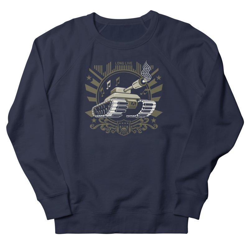 Alkmist Power Music Tank Men's Sweatshirt by Alkmist's Creative Blends