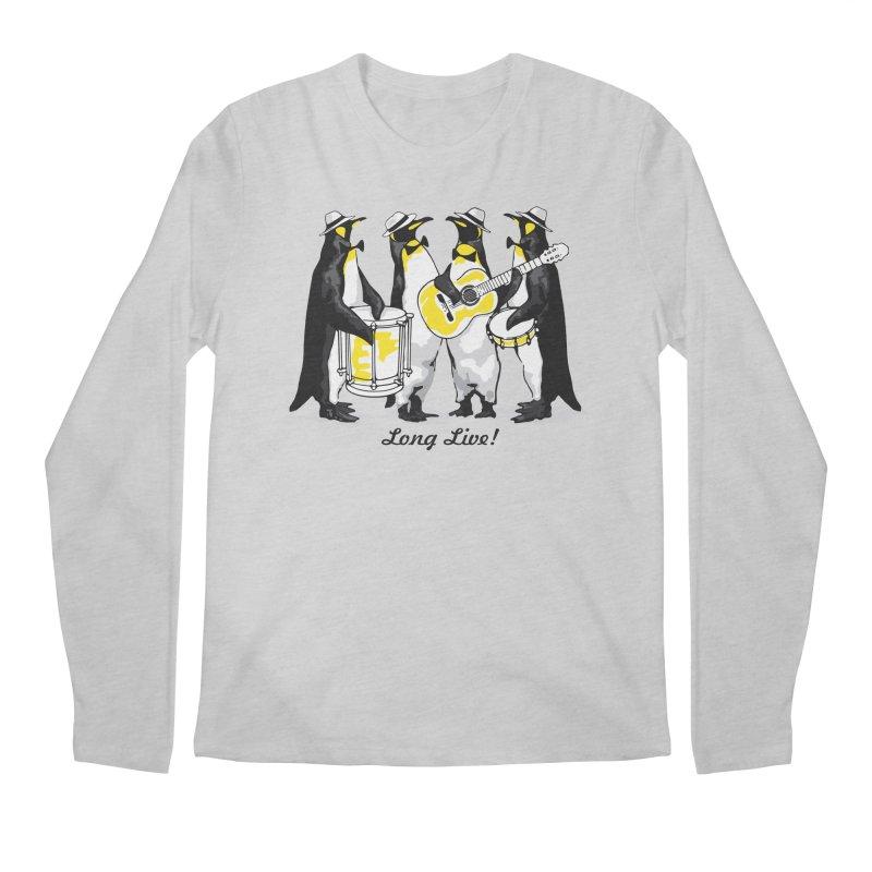 Alkmist Samba Penguins Men's Longsleeve T-Shirt by Alkmist's Creative Blends