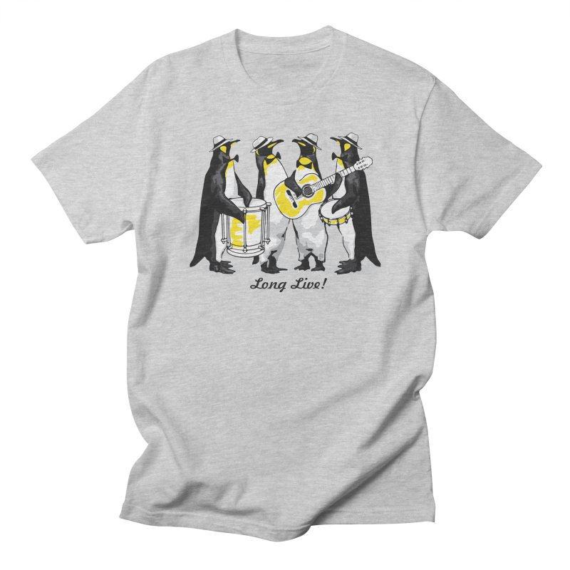 Alkmist Samba Penguins Men's T-shirt by Alkmist's Creative Blends