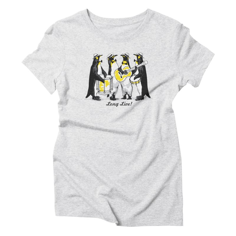 Alkmist Samba Penguins Women's Triblend T-Shirt by Alkmist's Creative Blends