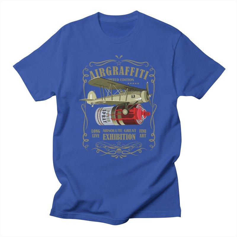 Alkmist Air Graffiti Spray Can Men's T-Shirt by Alkmist's Creative Blends