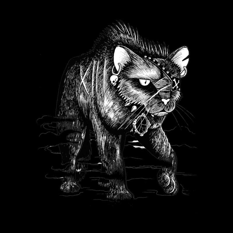 Black cat Men's T-Shirt by allandotson's Artist Shop